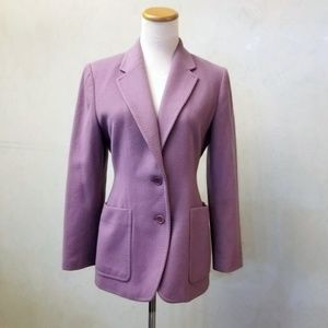 Kate Hill purple pea coat